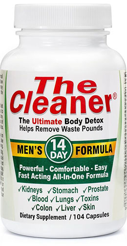 The Cleaner® 14 Day Mens FormulaVW.THE CLEANR 14DAY MNS.104.CA<br>