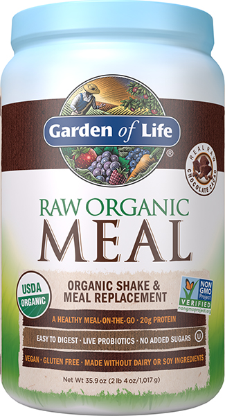 Garden Of Life Raw Organic Meal In Chocolate Cacao Vitamin World