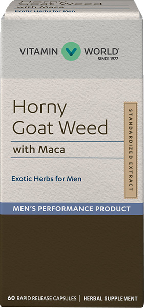 Horny Goat Weed with MacaVW.HORNY GT WEED W/MACA.60.CAP<br>