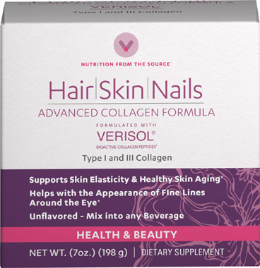 Hair Skin and Nails Advanced CollagenVW.ADV COLLAGEN PWD.6.GRM.7.OZ<br>