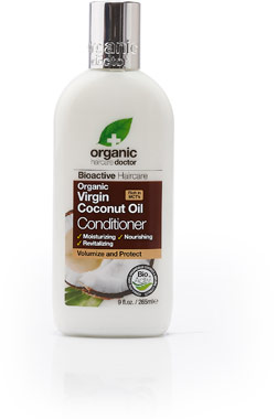 Organic Doctor Virgin Coconut Oil ConditionerVW.OD COCONUT CONDITION.265ML.<br>