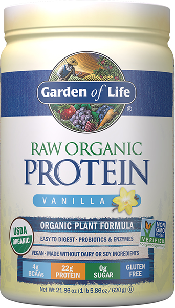 Garden Of Life Raw Organic Protein Vanilla Vitamin World