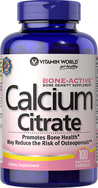 Calcium Citrate 1,000mgVW.CALCIUM CITRATE.1000.MG.100<br>
