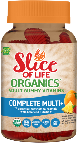Slice of Life Organics® Complete Adult Multivitamin GummiesSLCE OF LFE MLTI GMY<br>