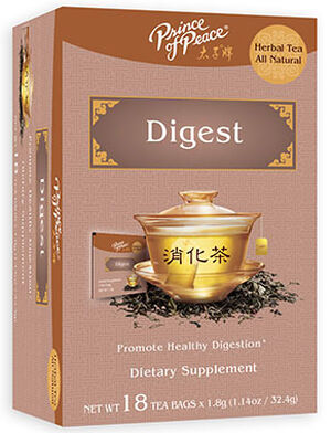 Prince of Peace Digest Herbal Tea 18 Tea Bags