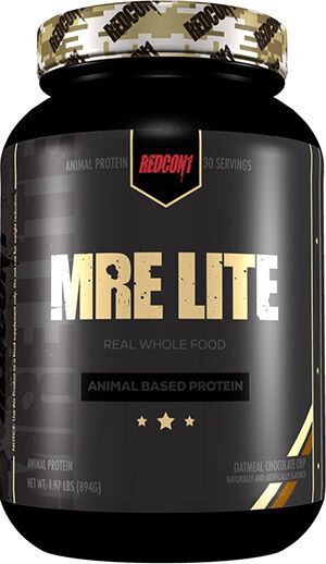 RedCon1 MRE Lite Protein Oatmeal Chocolate Chip