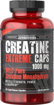 Creatine Extreme Caps 1,000mg, , hi-res