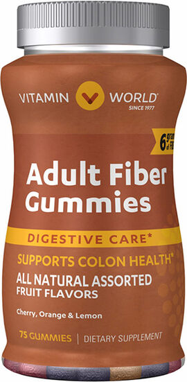 Adult Fiber Gummies with Vitamin D