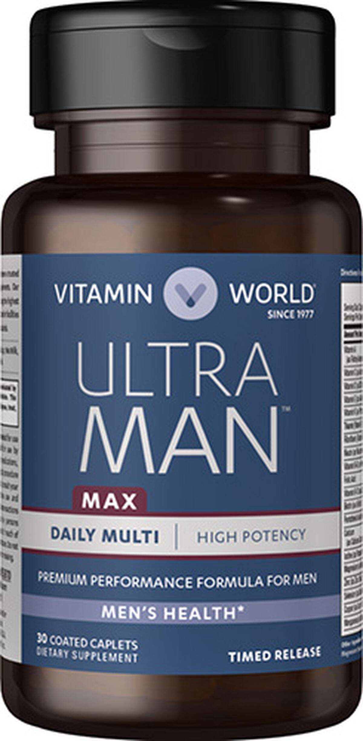 Ultra Man™ Max multivitamins at Vitamin World | Tuggl