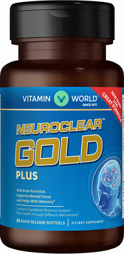 Vitamin World NeuroClear™ Gold Plus 30 softgels