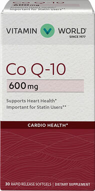 Vitamin World Co Q-10 600 mg.