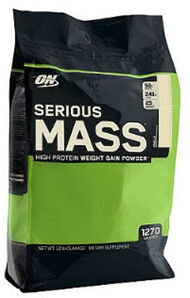 Optimum Nutrition Serious Mass Vanilla 12 lbs. 12 lbs. Powder