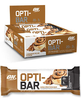 Opti-Bar Protein Bars Cinnamon Pecan