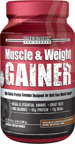 Precision Engineered® Muscle & Weight Gainer 3 lbs. Double Chocolate Supreme 3 lbs. Powder