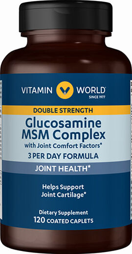 Double Strength Glucosamine MSM Complex