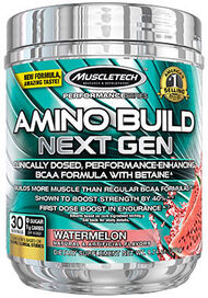 MuscleTech Amino Build® Next Gen Watermelon 10 oz. Powder