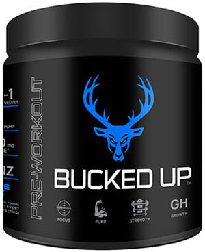 DAS Labs Bucked Up™ Pre Workout Blue Raz 10.88 oz. Powder