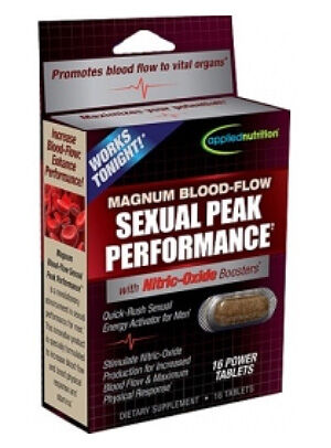 Applied Nutrition Magnum Blood Flow Sexual Peak Performance