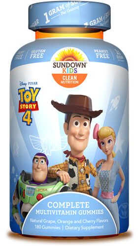 Disney Pixar Toy Story 4 Complete Multivitamin Gummies for Kids