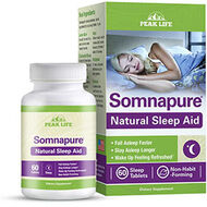 Peak Life® Somnapure Natural Sleep Aid 500 mg. 69 Tablets