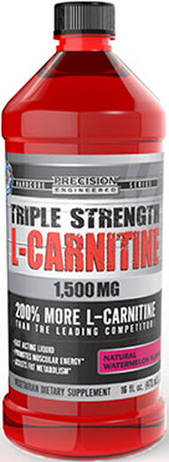 Precision Engineered® Triple Strength L-Carnitine 1500 mg Watermelon 16 oz. Liquid 1500mg