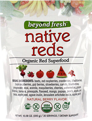 Beyond Fresh Native Reds Organic Superfoods