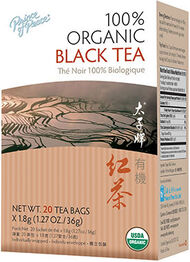 Prince of Peace 100% Organic Black Tea 20 Tea Bags
