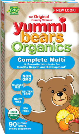 Yummi Bears Organics Children's Multivitamin Gummies