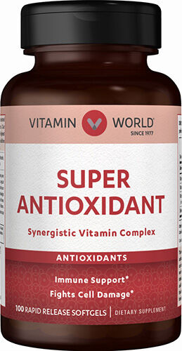 Vitamin World Super Antioxidant Formula 100 Softgels