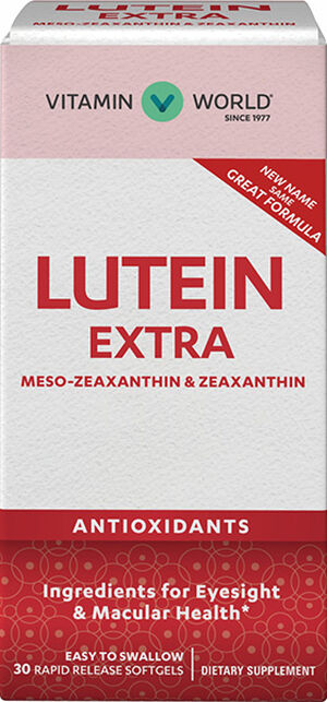 Vitamin World Lutigold Extra 20 mg. 30 Softgels