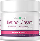 Vitamin World Retinol Cream 100,000 IU 2 oz. Cream