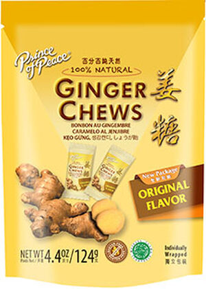 Prince of Peace Ginger Chews Original 4 oz. Chewables