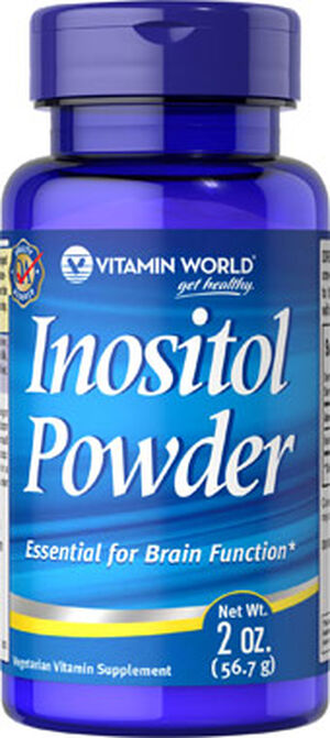 Vitamin World Inositol Powder 2 oz. Powder 1000mg