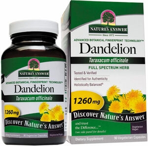Nature's Answer Dandelion 1260 mg. 90 Capsules