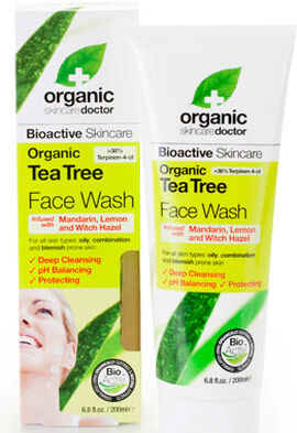 Organic Doctor Tea Tree Face Wash