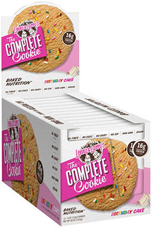 Lenny Larrys Inc The Complete Cookie Birthday Cake 12 Packs