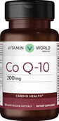 Vitamin World Co Q-10 200 mg. 30 Softgels