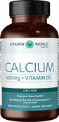 Calcium 600 mg + Vitamin D3, 500, hi-res