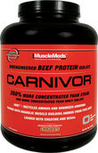 MuscleMeds Carnivor Beef Protein Isolate 4 lbs. Powder Chocolate