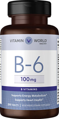 Vitamin B-6 100 mg., , hi-res