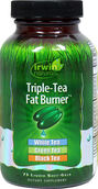 Irwin Naturals Triple Tea Fat Burner 75 Softgels