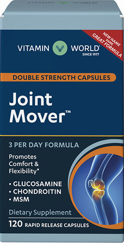 Vitamin World Double Strength Capsules Joint Mover