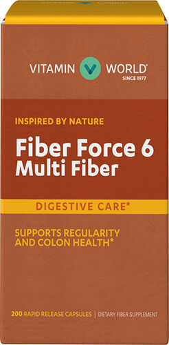 Vitamin World Fiber Force 6 Supplement