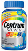 Centrum® Silver® Men 50 Plus Multivitamins 200 Tablets