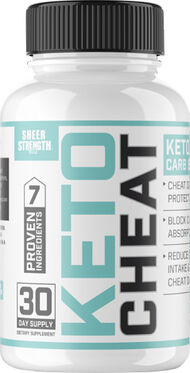 Sheer Strength® Labs Keto Cheat 60 Capsules