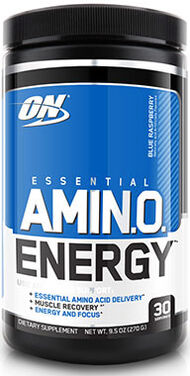 Essential AmiNO Energy™ Blue Raspberry, , hi-res