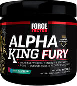 Force Factor Alpha King Fury Blue Raspberry 6.3 oz. Powder