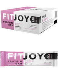 FitJoy FitJoy Protein Bars Birthday Cake 12 Bars