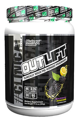 Outlift Pre-workout Blackberry Lemonade 17.8 oz.