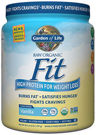 RAW Organic Fit Protein Vanilla 16 oz., , hi-res